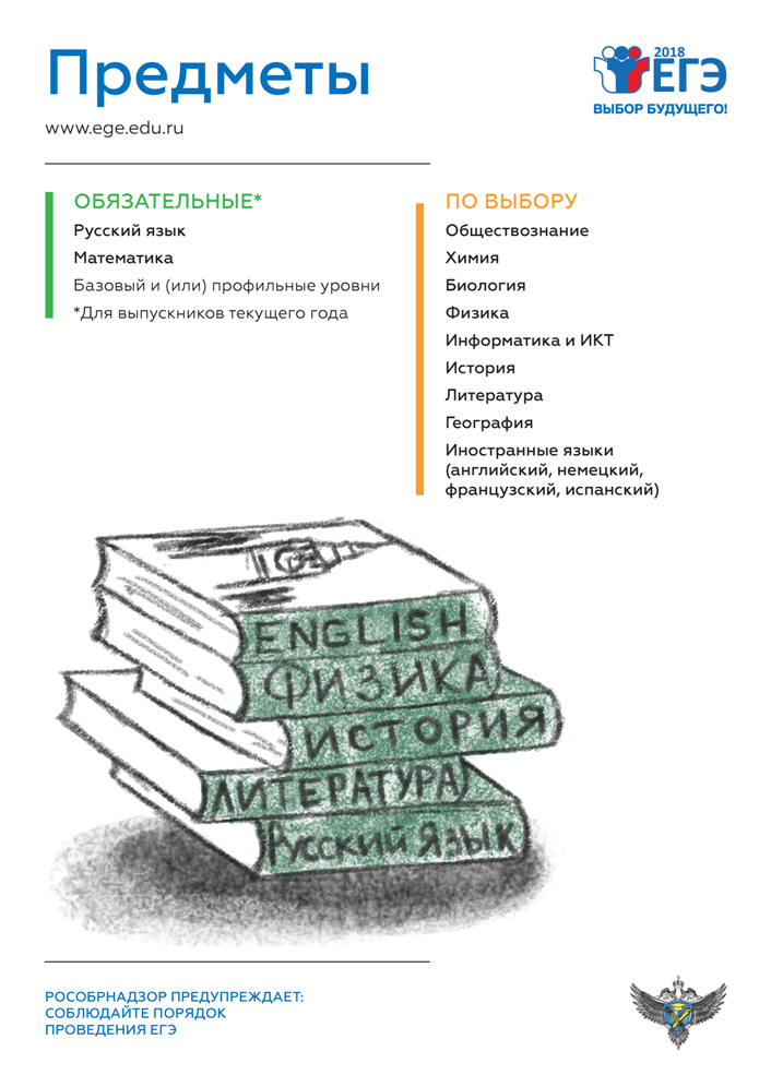 Информационные плакаты о ЕГЭ