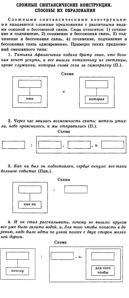 Задание 19 (A26). Знаки препинания в сложном предложении с союзной и бессоюзной связью