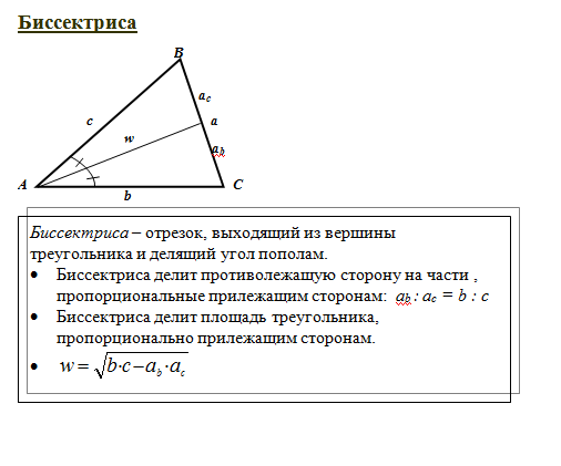 Курс теории по математике