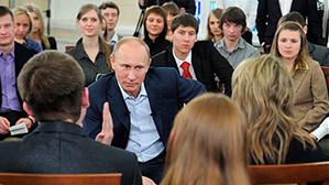 Путин считает обоснованным сокращение подготовки юристов и экономистов в технических вузах