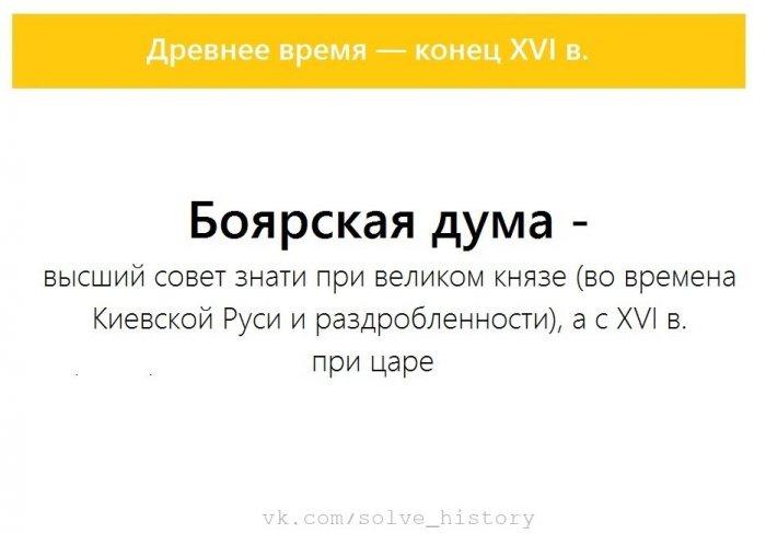 Термины по истории