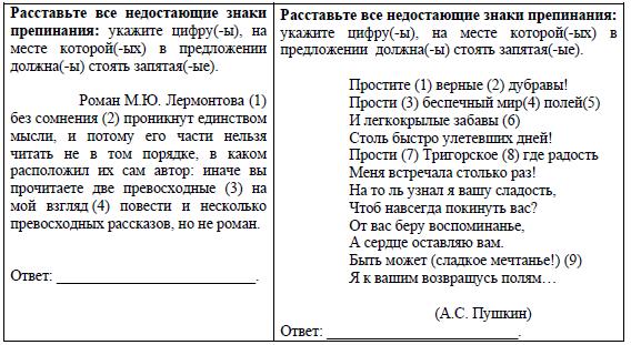 ЕГЭ 2017 по русскому языку