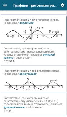 Справочник школьника. Приложение на андроид