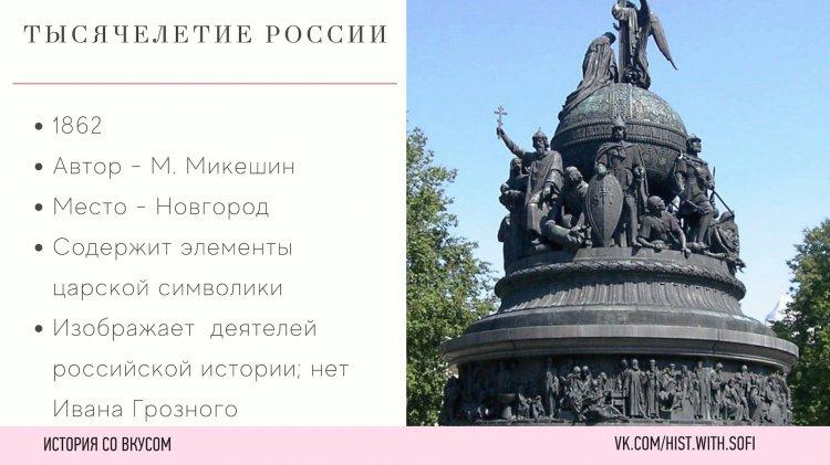 Топ-7 памятников, которые встречаются на ЕГЭ